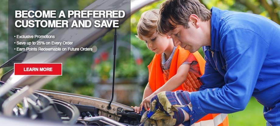 Become an Amsoil Preferred Customer and Save up to 25% off retail